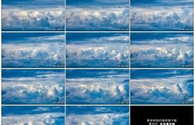 高清实拍视频素材丨天空中云海涌动延时摄影