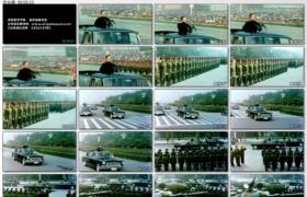 [高清实拍素材]邓小平阅兵