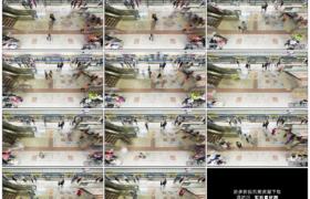 高清实拍视频素材丨香港地铁站来来往往穿梭的乘客延时摄影