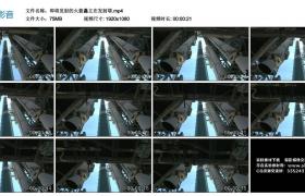 高清实拍视频丨即将发射的火箭矗立在发射塔