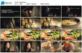 [高清实拍素材]美食菜品
