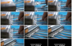 4K实拍视频素材丨移摄将网线插进路由器