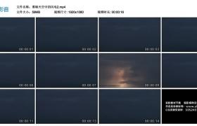 高清实拍视频素材丨黑暗天空中的闪电2