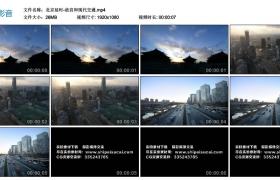 高清实拍视频丨北京延时-故宫和现代交通