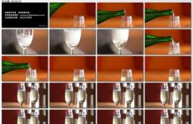 [高清实拍素材]斟香槟