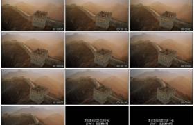 高清实拍视频素材丨航拍破败的长城烽火台和城墙