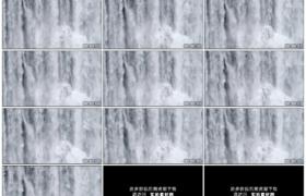 高清实拍视频素材丨瀑布水流水花飞溅