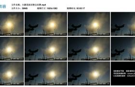 高清实拍视频丨火箭发射后粉尘沉降