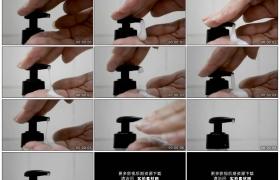 高清实拍视频素材丨特写按压挤出洗手液
