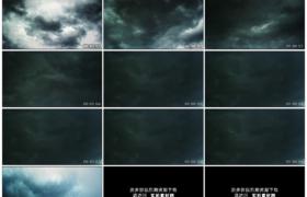 4K实拍视频素材丨天气变化 天空中风吹乌云涌动延时摄影
