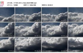 高清实拍视频素材丨天气变化 蓝天上风起云涌延时摄影