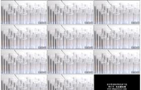 4K实拍视频素材丨将液体滴入玻璃试管内生物化学实验