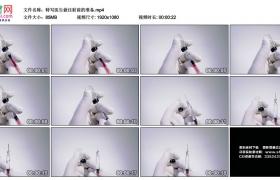 高清实拍视频丨特写医生做注射前的准备