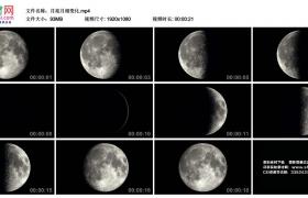 高清实拍视频丨月食 月亮月相变化