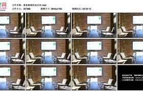 4K视频素材丨准备就绪的会议室