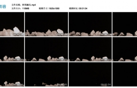 高清实拍视频丨积雪融化