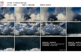 高清实拍视频丨天气变化风云变幻延时摄影