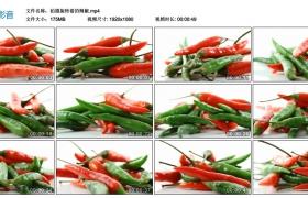 高清实拍视频素材丨拍摄旋转着的辣椒