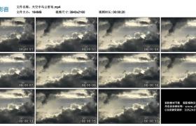4K视频素材丨天空中乌云密布