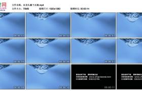高清实拍视频丨水龙头滴下水滴