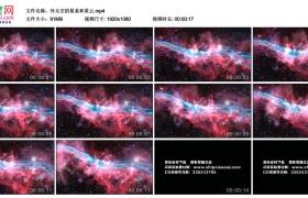 高清实拍视频素材丨外太空的星系和星云