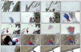 [高清实拍素材]登山一组3