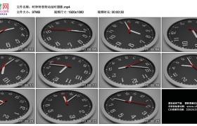 高清实拍视频素材丨时钟钟表转动延时摄影