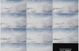高清实拍视频素材丨在茫茫白云云层中穿行