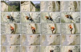 [高清实拍素材]登山一组2