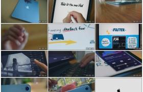 高清广告丨2020年9月Apple平板电脑iPad Air最新广告宣传片