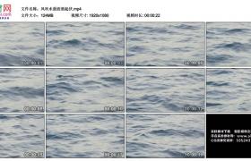 高清实拍视频丨风吹水面波浪起伏