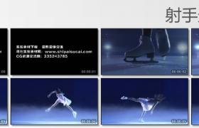 [高清实拍素材]花样滑冰