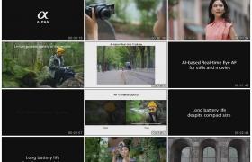 4K广告丨Sony索尼全画幅微单Alpha 7C广告宣传片