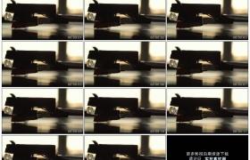 4K实拍视频素材丨特写老式留声机播放音乐磁头读取唱片信息