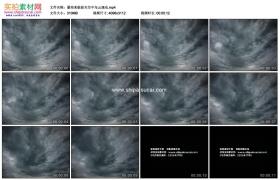 4K实拍视频素材丨暴雨来临前天空中乌云涌动