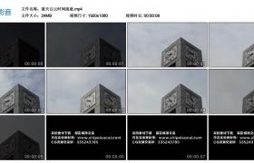 【高清实拍素材】蓝天白云时间流逝实拍视频素材