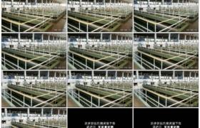 4K实拍视频素材丨向左摇摄室内大型污水处理厂