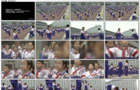 [高清实拍素材]小学生集体操