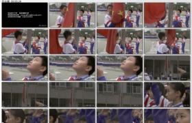 [高清实拍素材]小学生升国旗