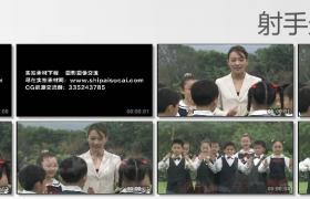 [高清实拍素材]老师教学生
