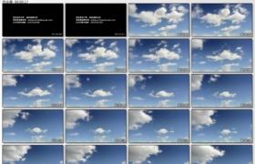 [高清实拍素材]蓝天白云5