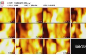 高清实拍视频素材丨火焰燃烧跳跃模糊背景