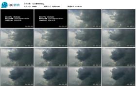 [高清实拍素材]乌云翻滚2