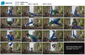 [高清实拍素材] 街舞慢镜头
