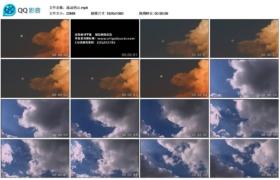 【高清实拍素材】流动的云