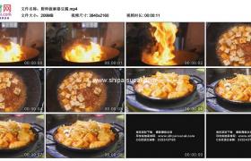 4K实拍视频素材丨厨师做麻婆豆腐