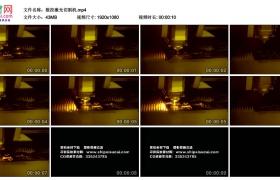 高清实拍视频丨数控激光切割机