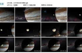 高清实拍视频丨太空中的木星半阴影