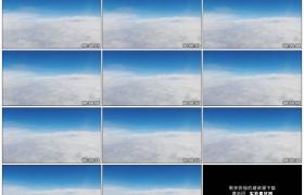 4K实拍视频素材丨飞行在白色的云层之上