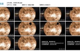 高清实拍视频丨火热的行星